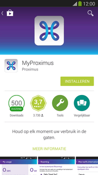 Samsung Galaxy S5 mini - Applicaties - MyProximus - Stap 7