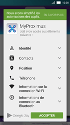Huawei Y5 - Applications - MyProximus - Étape 8