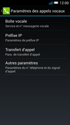 Alcatel OT-7041X Pop C7 - Messagerie vocale - Configuration manuelle - Étape 7