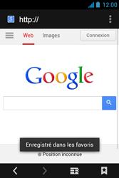 Acer Liquid Z3 - Internet - Navigation sur internet - Étape 8