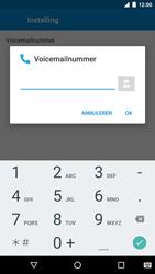LG Nexus 5X - Voicemail - Handmatig instellen - Stap 10