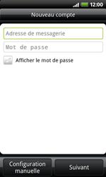 HTC A7272 Desire Z - E-mail - Configuration manuelle - Étape 6