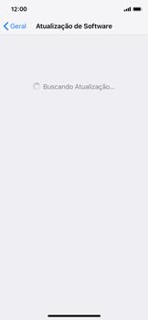Apple iPhone iOS 12 - Funções básicas - Como atualizar o software do seu aparelho - Etapa 5