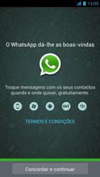 Wiko Darkmoon - Aplicações - Como configurar o WhatsApp -  5