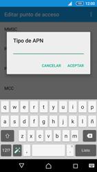 Sony Xperia Z5 - Mensajería - Configurar el equipo para mensajes multimedia - Paso 13