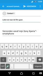 Sony Xperia Z3+ (E6553) - E-mail - E-mail versturen - Stap 8