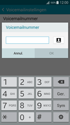 Samsung Galaxy S6 - Voicemail - Handmatig instellen - Stap 9