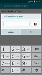 Samsung A300FU Galaxy A3 - Voicemail - Handmatig instellen - Stap 9