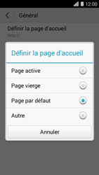 Huawei Ascend Y550 - Internet - configuration manuelle - Étape 21