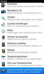 BlackBerry 9860 Torch - Instellingen - Configuratiebericht ontvangen - Stap 5