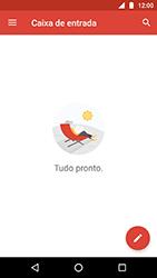 Motorola Moto X4 - Email - Como configurar seu celular para receber e enviar e-mails - Etapa 6