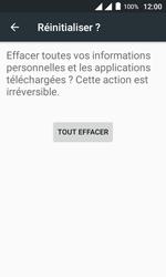 Alcatel Pixi 4 (4) - Device maintenance - Retour aux réglages usine - Étape 8