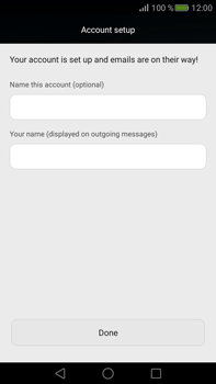 Huawei Mate S - E-mail - Manual configuration (outlook) - Step 9