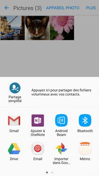 Samsung Samsung Galaxy J7 (2016) - Photos, vidéos, musique - Envoyer une photo via Bluetooth - Étape 11