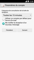 Huawei Ascend Y530 - E-mail - Configurer l