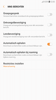 Samsung Galaxy J7 (2017) - MMS - probleem met ontvangen - Stap 10