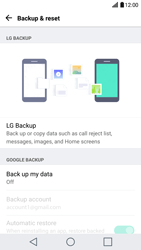 LG G5 - Device maintenance - Create a backup of your data - Step 5
