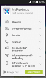 Samsung J100H Galaxy J1 - Applicaties - MyProximus - Stap 9