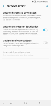 Samsung Galaxy A6 Plus - Software update - update installeren zonder PC - Stap 5