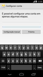 Motorola Moto X (2014) - Email - Como configurar seu celular para receber e enviar e-mails - Etapa 6