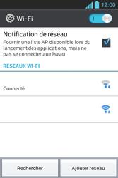 LG E610 Optimus L5 - Wifi - configuration manuelle - Étape 7