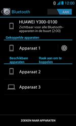 Huawei Ascend Y300 - Bluetooth - Headset, carkit verbinding - Stap 8