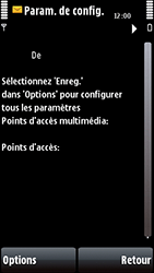 Nokia 5800 Xpress Music - MMS - configuration automatique - Étape 6
