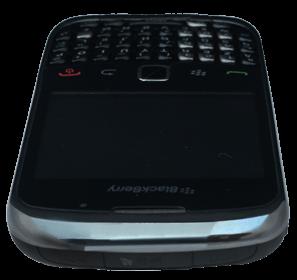BlackBerry curve 3G - Premiers pas - Découvrir les touches principales - Étape 10