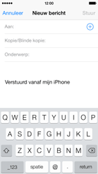 Apple iPhone 5s iOS 8 - E-mail - Bericht met attachment versturen - Stap 4