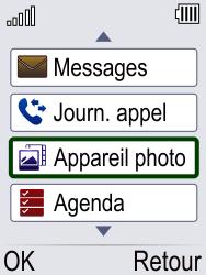 Doro Phone Easy 621 - Photos, vidéos, musique - Envoyer une photo via Bluetooth - Étape 3