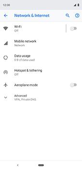 Google Pixel 3XL - Internet - Usage across the border - Step 5