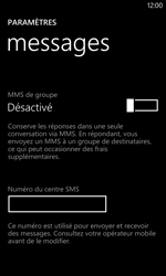 Nokia Lumia 1020 - SMS - configuration manuelle - Étape 6