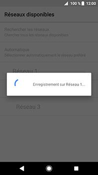 Sony Xperia XA2 Ultra - Réseau - Sélection manuelle du réseau - Étape 10