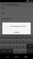 Acer Liquid Jade S - E-mail - Account instellen (IMAP met SMTP-verificatie) - Stap 11