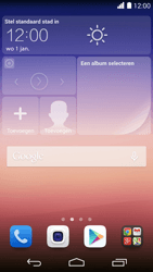 Huawei Ascend P7 - Applicaties - Account aanmaken - Stap 1