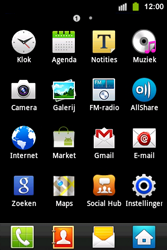 Samsung S5830i Galaxy Ace i - Voicemail - handmatig instellen - Stap 4