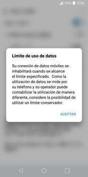 LG Q6 - Internet - Ver uso de datos - Paso 8