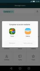 Huawei Ascend G7 - Mensajería - Escribir y enviar un mensaje multimedia - Paso 14