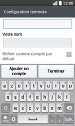 LG F70 - E-mails - Ajouter ou modifier un compte e-mail - Étape 18