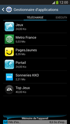 Samsung Galaxy S4 - Applications - Supprimer une application - Étape 9
