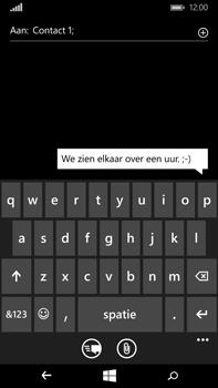 Microsoft Lumia 640 XL - MMS - Afbeeldingen verzenden - Stap 7