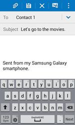 Samsung G388F Galaxy Xcover 3 - E-mail - Sending emails - Step 9