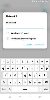 LG Q7 - WiFi - Verbinden met een netwerk - Stap 7