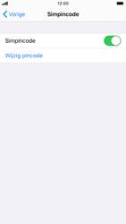 Apple iphone-6s-met-ios-13-model-a1688 - Beveiliging en ouderlijk toezicht - Hoe wijzig ik mijn SIM PIN-code - Stap 12