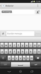Sony Xperia Z - Mensajería - Escribir y enviar un mensaje multimedia - Paso 9