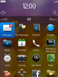 BlackBerry 9810 Torch - Settings - Configuration message received - Step 9