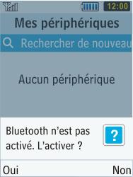 Samsung C3350 Xcover 2 - Bluetooth - connexion Bluetooth - Étape 8