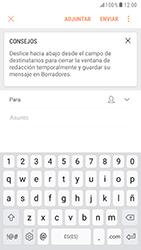 Samsung Galaxy S6 - Android Nougat - E-mail - Escribir y enviar un correo electrónico - Paso 5