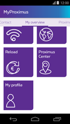 Acer Liquid E600 - Applications - MyProximus - Step 22