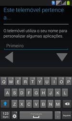Samsung Galaxy Fresh Duos - Primeiros passos - Como ligar o telemóvel pela primeira vez -  15